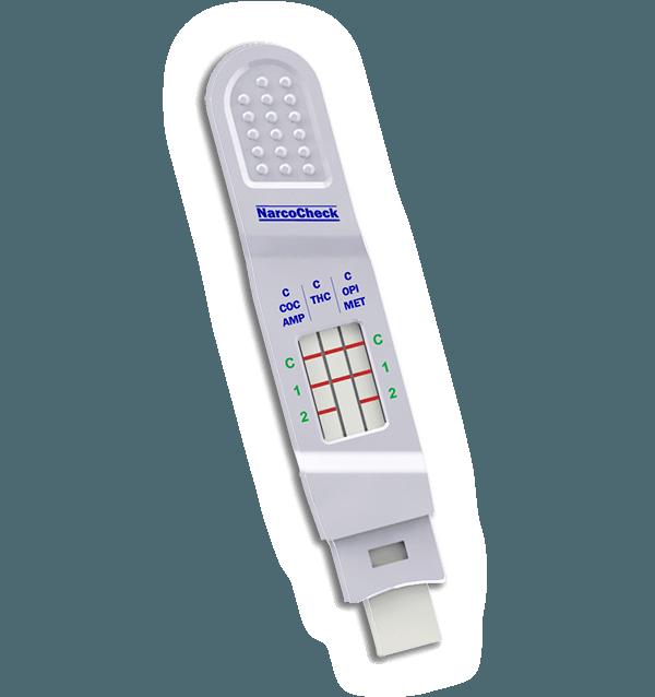 Test multi-droga della saliva